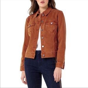 NWT-Liverpool Los Angeles Burnt Orange Jean Jacket